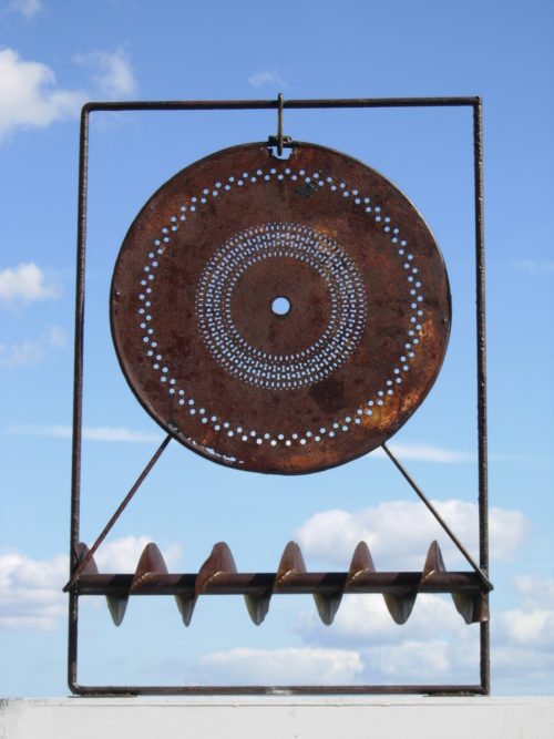 SYMBOLE 1, métal, 80cm x 60cm x 05cm, vendu / sold